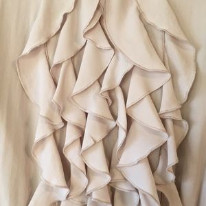 H&M Dresses - LIKE NEW | H&M Cinched Waist Ruffle Dress